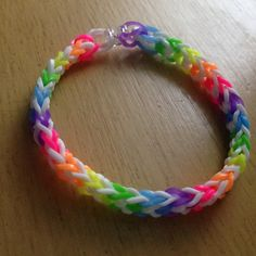 Inverted fishtail Rubberband bracelet
