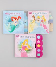 Take a look at this Disney Princess Play-a-Sound Box Set by Disney on #zulily today!