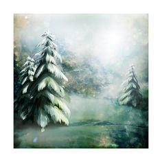 sussieM NPT Santa's City PP1.JPG ❤ liked on Polyvore featuring backgrounds, winter, christmas, trees and winter background