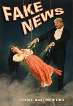 Polls: Media offer fake news, but news from Trump seen as phoniest of all Political Art, Political Events, Trump Poster, Activist Art, Reflection Art, Social Art, Us Politics, A Level Art, Gcse Art