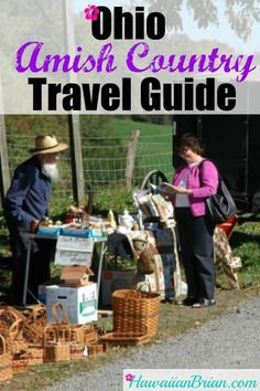 Ohio Amish Country Travel Guide – Hawaiian Brian's Travel Site Ohio's Amish country is a great place to experience something truly unique. Holmes County, Ohio holds the largest Amish community in the world, and it makes for a memorable vacation. Bowling Green Kentucky, Travel Usa, Travel Tips, Travel Ideas, Travel Articles, Travel Checklist, Travel Stuff, Travel Hacks, Amish Country Ohio