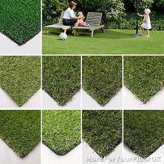 Artificial Grass, Quality Astro Turf, Cheap, Realistic Natural Green Lawn Garden