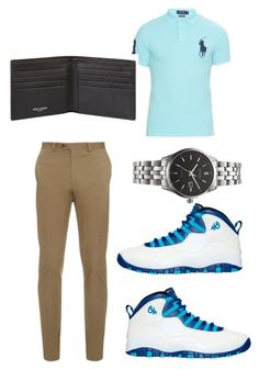 """Men's Date Night-Summer"" by kayla-wilburn-1 on Polyvore featuring Brioni, Polo Ralph Lauren, NIKE, Citizen, Yves Saint Laurent, men's fashion and menswear"