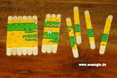 Stäbchenpuzzle / Craft Stick Puzzle