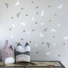 Fabelab Playful Triangles Wall Stickers