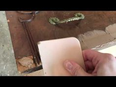 Repairing Bubbled or Chipped Veneer Before Painting a Dresser - Shades of Blue Interiors Wood Drawer Slides, Diy Furniture Flip, Vintage Dressers, Wood Drawers, Shades Of Blue, Bubbles, Blue Interiors, Painting, Youtube