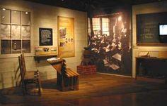 Image result for segregation in schools museum exhibit