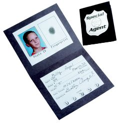 Black card, agent templates
