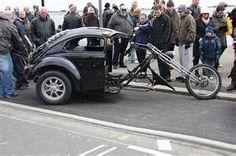 VW Beetle Motorbike Trike by exfordy