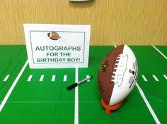 Hui Chan Hui Chan Hui C. Football First Birthday, 40th Birthday, Boy First Birthday, First Birthday Parties, Birthday Party Themes, First Birthdays, Birthday Ideas, Football Themes, Football Football