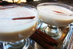 How to Make Coquito Puerto Rican Coconut Eggnog. Christmas cocktail recipe.