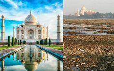 15 Lugares Famosos Mostrados Junto A Su Verdadero Entorno (MUUUY BUENO)