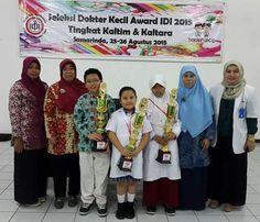 Perpustakaan Bunga Bangsa ƸӜƷ: Juara 3 Tingkat Provinsi Pemilihan Dokter Cilik