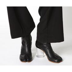 MARTIN MARGIELA Tabi Boots Black