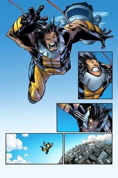 Humberto Ramos Art | Humberto Ramos, Wolverine