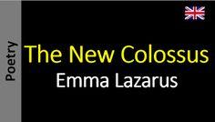 Poesia - Sanderlei Silveira: The New Colossus - Emma Lazarus