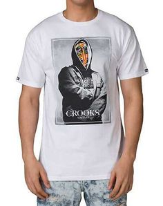 #FashionVault #crooks and castles #Men #Tops - Check this : CROOKS AND CASTLES MENS White Clothing / Tops for $19.99 USD