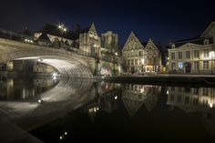 Ghent by Patrick Desmet on 500px  (Belguim)