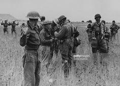 British Prisoners In Crete On July 17Th 1941