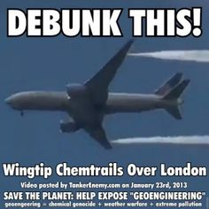 """Climate hoax geoengineering depopulation agenda 21 articles.... Kind of hard to call those """"trails"""" Exhaust Vapor, wouldn't you say!"""