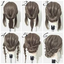Image result for easy formal hairstyles for medium length hair