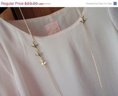 Chasing Swallows Long Elegant Vintage by MadisonHoneyVintage