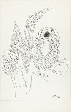 "Pace Gallery - ""100th Anniversary Exhibition"" - Saul Steinberg"