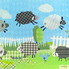 Dress up a bare wall with the Counting Sheep in Blue Canvas Wall Art from Oopsy Daisy. Canvas wall art is perfect for adding color and style to bedrooms, playrooms, nurseries and even bathrooms!