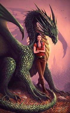The Art Of Animation, Nick Deligaris Dragon Fantasy Myth Mythical Mystical Legend Dragons Wings Sword Sorcery  Magic