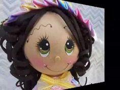 Butterfly Garden Fofucha Doll foamy doll