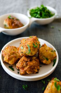 Fried Zucchini Balls. Great way to make your family love zucchini! A wonderful vegetarian alternative to meatballs! | giverecipe.com | #zucchini #vegetarian #breakfast #savory