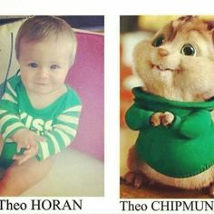 Awww cuties AWWEEWW < I can't tell the adorable difference. Theo Horan, Niall Horan Imagines, James Horan, Naill Horan, Save My Life, Love Of My Life, In This World, My Love, Midnight Memories