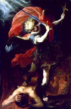 Claudio Coello, Saint Michael the Archangel Vanquishing the Devil, c. 1660