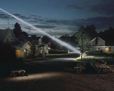 http://www.boumbang.com/gregory-crewdson/ Gregory Crewdson, Untitled (Ray of Light), 2001, Digital color coupler print, 121,9 x 152,4 cm © Gregory Crewdson