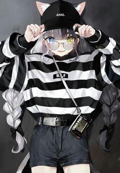 36 Ideas for drawing cat girl anime neko Anime Girl Neko, Anime Girls, Chica Gato Neko Anime, Cool Anime Girl, Pretty Anime Girl, Chica Anime Manga, Beautiful Anime Girl, Anime Art Girl, Cute Manga Girl