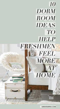 10 Beautiful Dorm Room Ideas to Help Freshmen Feel More at Home