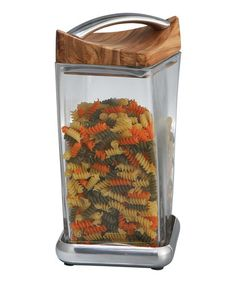 Another great find on #zulily! 9.5'' Twist Glass Canister #zulilyfinds