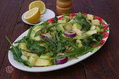 Kartoffelsalat mit Avocado und Rucola von @vierasabova