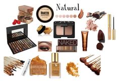"""""""natural"""" by buttercreamkisses ❤ liked on Polyvore featuring beauty, BHCosmetics, NARS Cosmetics, Lipstick Queen, Clarins, Deborah Lippmann, Bobbi Brown Cosmetics, Yves Saint Laurent, Estée Lauder and Peter Thomas Roth"""