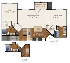 """""""Keats""""   Two Bedroom with Direct Access Garage 1149 sq. ft."""
