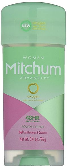 Mitchum Anti-Perspirant & Deodorant for Women, Power Gel, Powder Fresh, oz g) (Pack of Deodorant For Women, Beauty Shop, Active Ingredient, Whitening, Fragrance, Fresh, Shower, Ebay, Dns