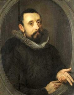 Gerrit Pietersz Sweelink, Portrait of Jan Pieterszoon Sweelinck, 1606 (Dutch Baroque composer)