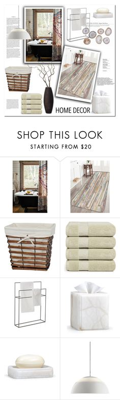 """""""Bath Rugs"""" by snje2105 ❤ liked on Polyvore featuring interior, interiors, interior design, home, home decor, interior decorating, Anthropologie, Creative Ware Home, Crate and Barrel and Labrazel"""