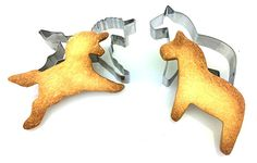 Einhorn & Pferd Ausstecher, Ausstechformen für Knete und Kekse, Keks, Knete, Knete ausstechen, Plätzchenform *EINHORN + PFERD* - by BLISSANY
