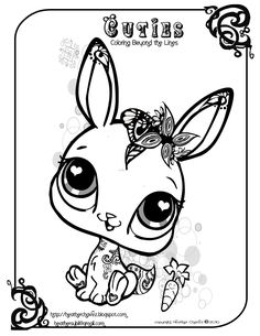 Free Printable Animal Coloring Pages For Children Image 28