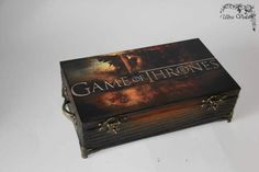 Check out Exclusive tea box, tea,  tea bag,  box, wood,Game of Thrones,Stark, Winter is coming on ultroviolet