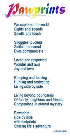 Rainbow Bridge Pet Sympathy Poem | Rainbow Bridge for Pets from Arkansas Pet services