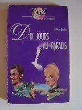 Livre de Poche Dix jours au paradis de Karen Leabo Collection Duo coup de foudre