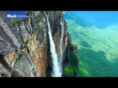 Drone footage captures jaw dropping majesty of Salto Angel falls. - YouTube