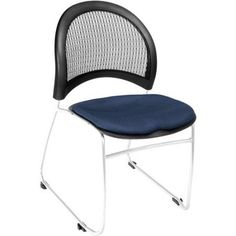 OFM Moon Stack Chair, Blue